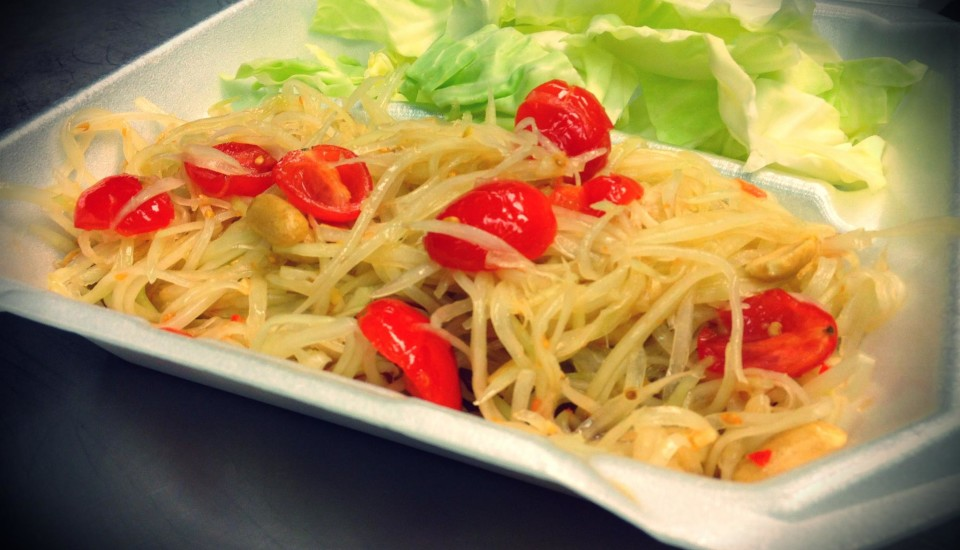 Som Tom Thai (Papaya Salad)
